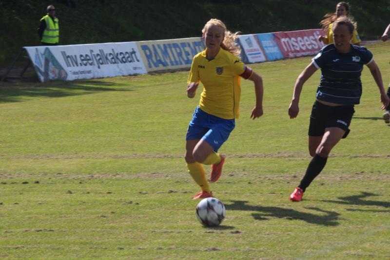 Miina Kallas lõi neli väravat.