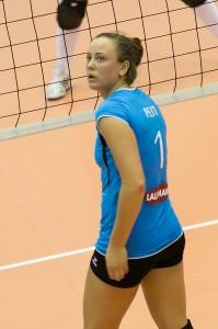 Nette Peit tegi resultatiivset mängu. Irina Mägi