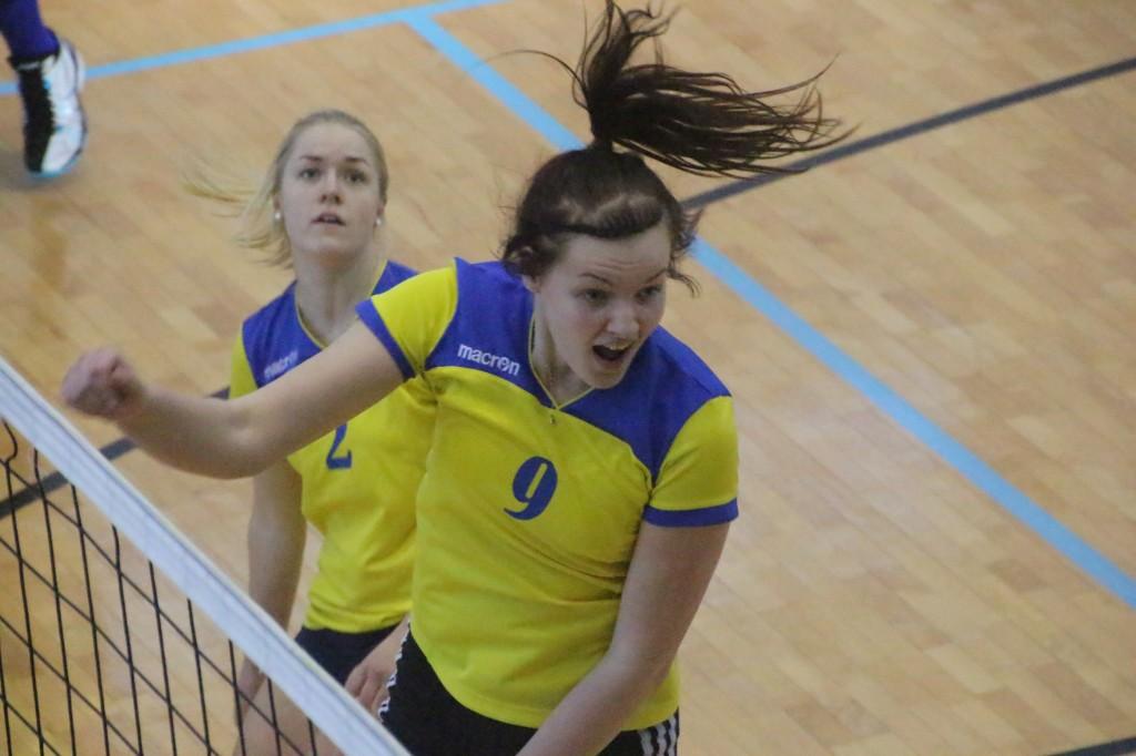 Lili Võrk Saaremaa Spordikooli vormis. Alver Kivi