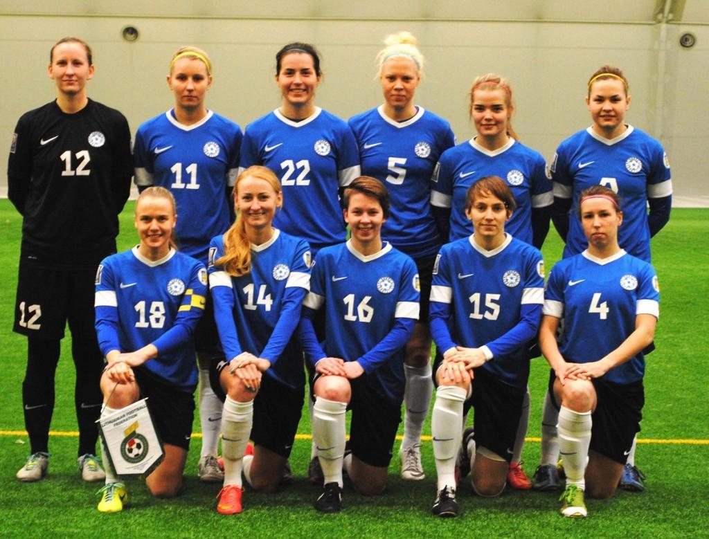 Naiste jalkakoondis. jalgpall.ee