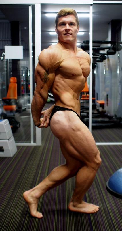Raigo Kuusnõmm lihasteilus. fitness.ee