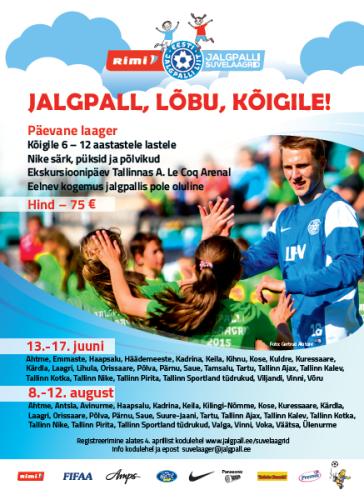www.jalgpall.ee/suvelaagrid