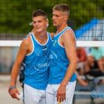 Dimitri Korotkov ja Siim Ennemuist. WUC Beach Volleyball Championship 2016