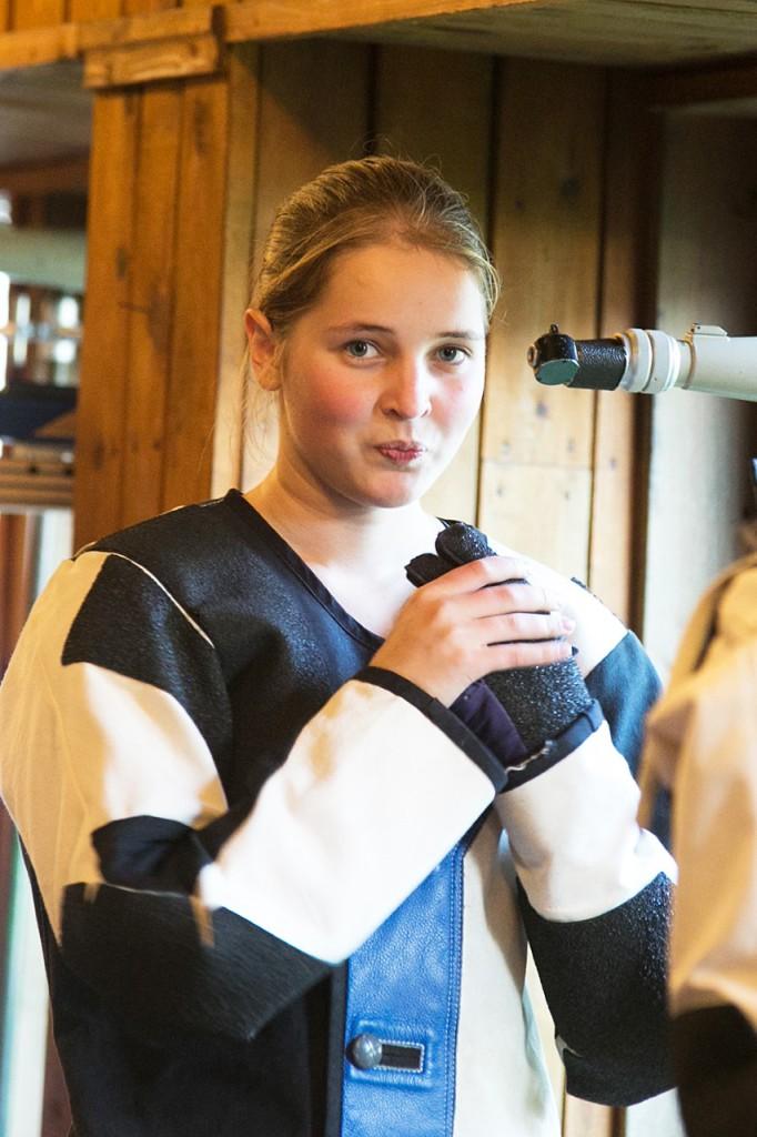 """Stabiilselt rõõmus Karoline Malk: """"Null koma kaks."""" Irina Mägi"""