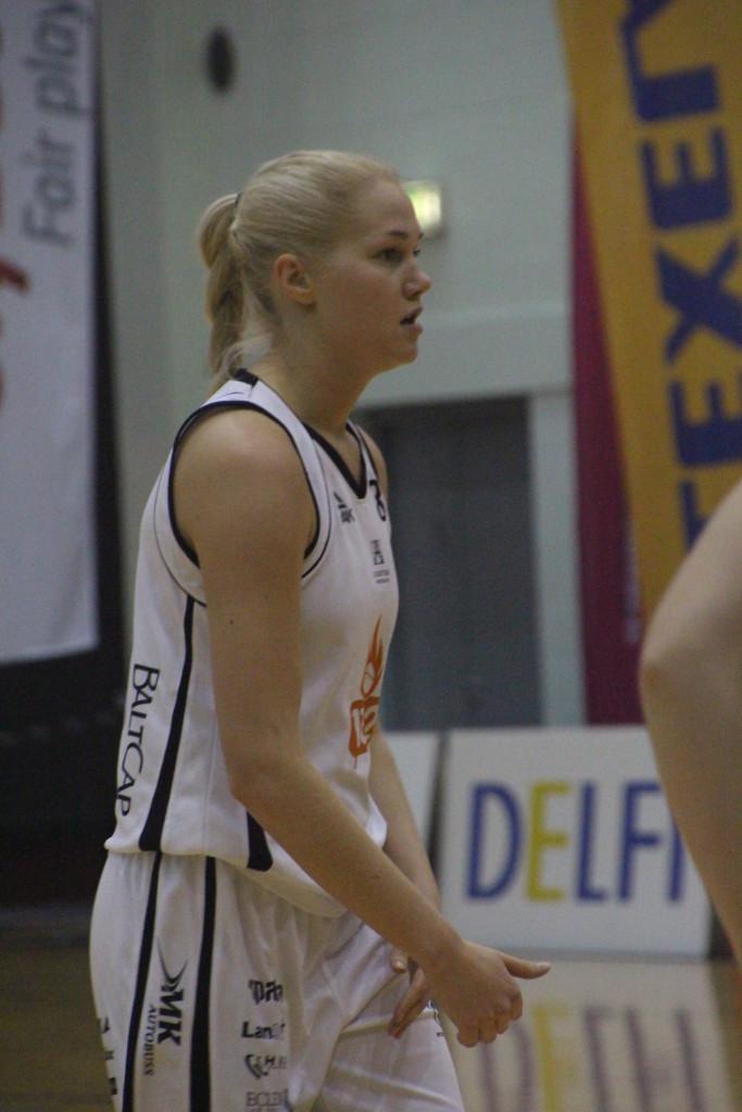 Annika Köster on vigastuse ületanud. Alver Kivi
