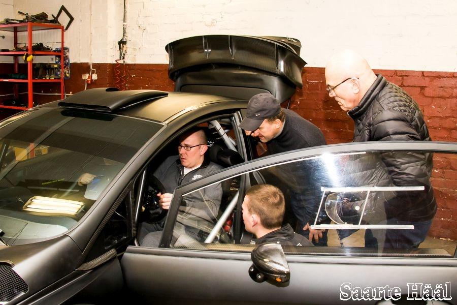 Uus auto vajab uudistamist. Irina Mägi