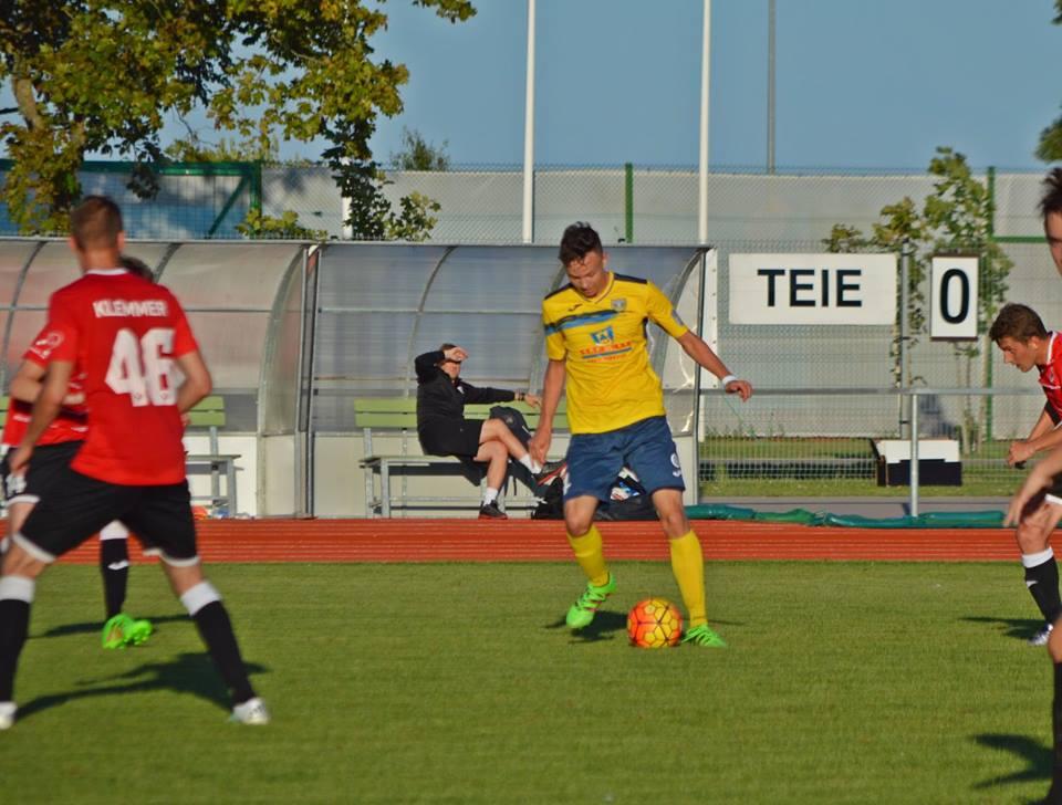 Märten Opp palliga. FC Kuressaare