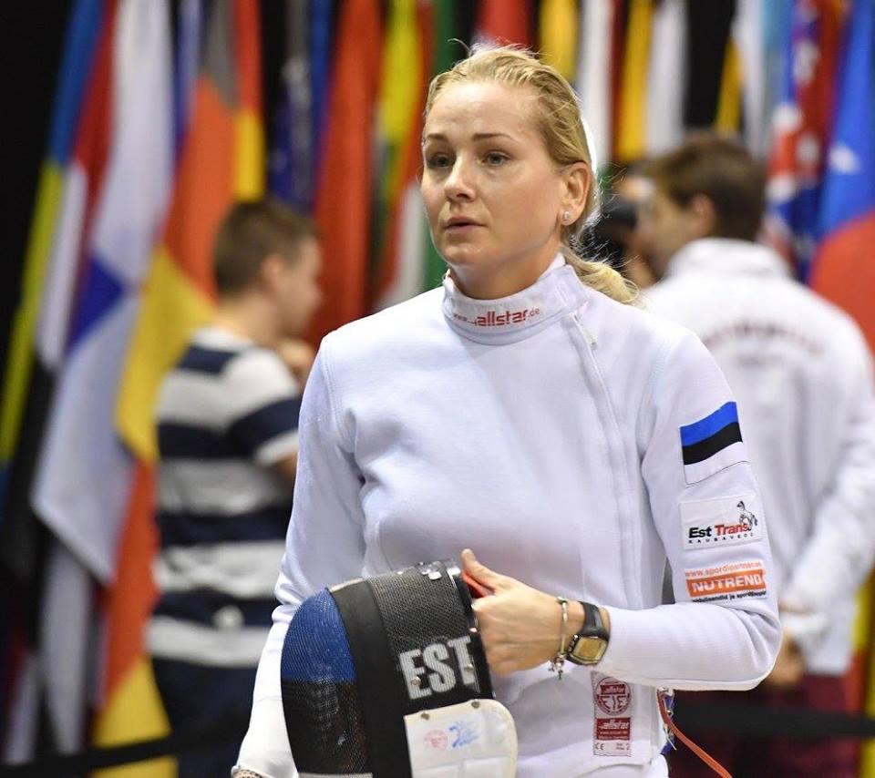 Kristina Kuusk seekord medalita. Augusto Pizzi