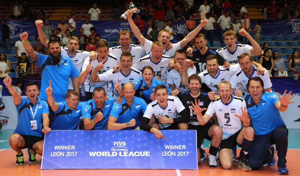 Võidukas vollemeeskond. volley.ee