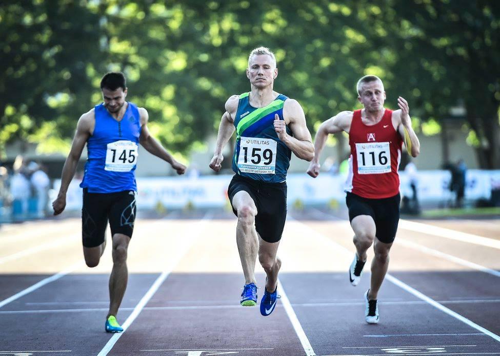 Marek Niit konkurentidest jätkuvalt ees. Marko Mumm/EKJL