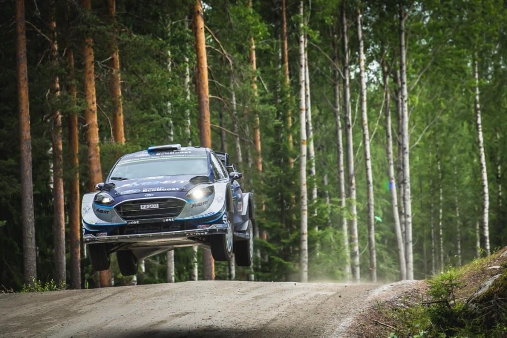 Soomes oli rallimeestel palju õhulende. M-Sport