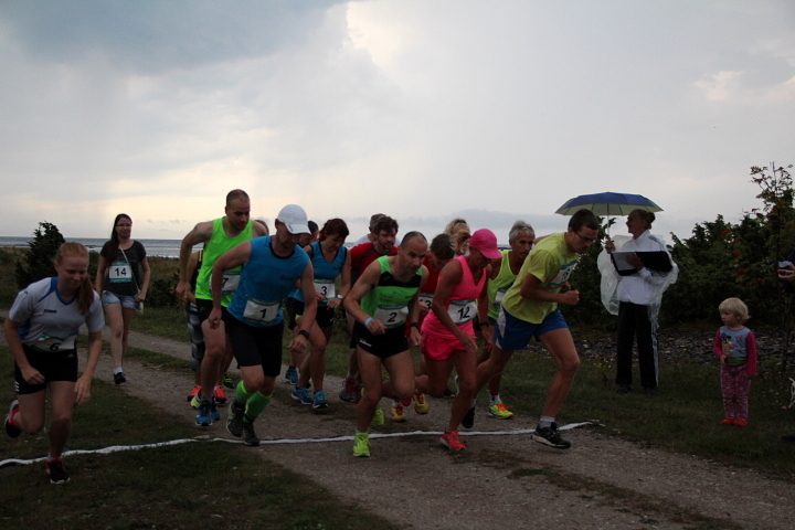 Jooksu start. Karin Volkov