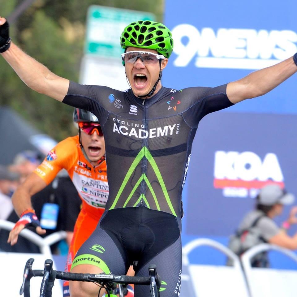 Mihkel Räim tegi tugevas seltskonnas tubli sõidu. Cycling Academy