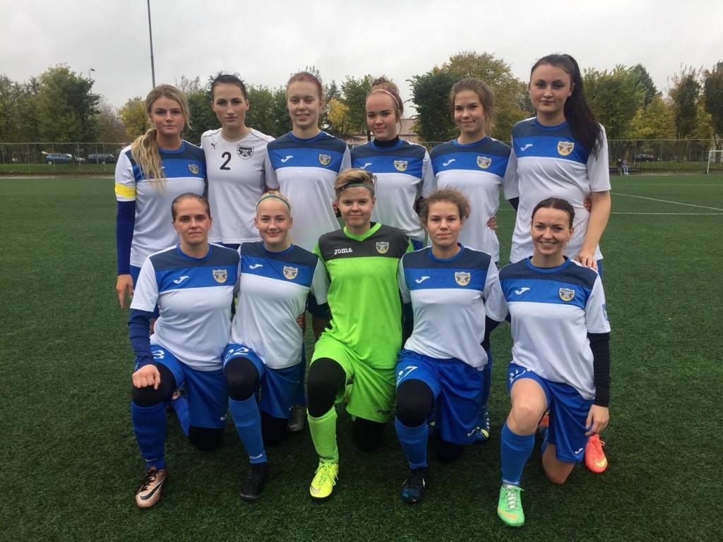 Võidukas naiskond. FC Kuressaare