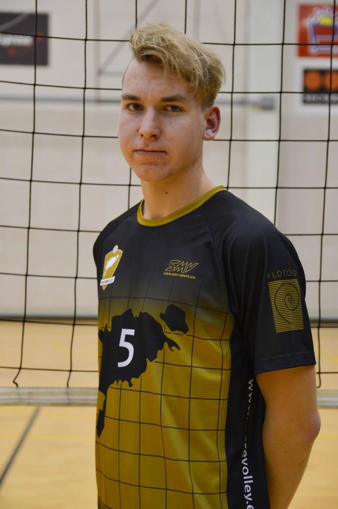 Karl-Erik Tänav. Saaremaa Võrkpalli Liit