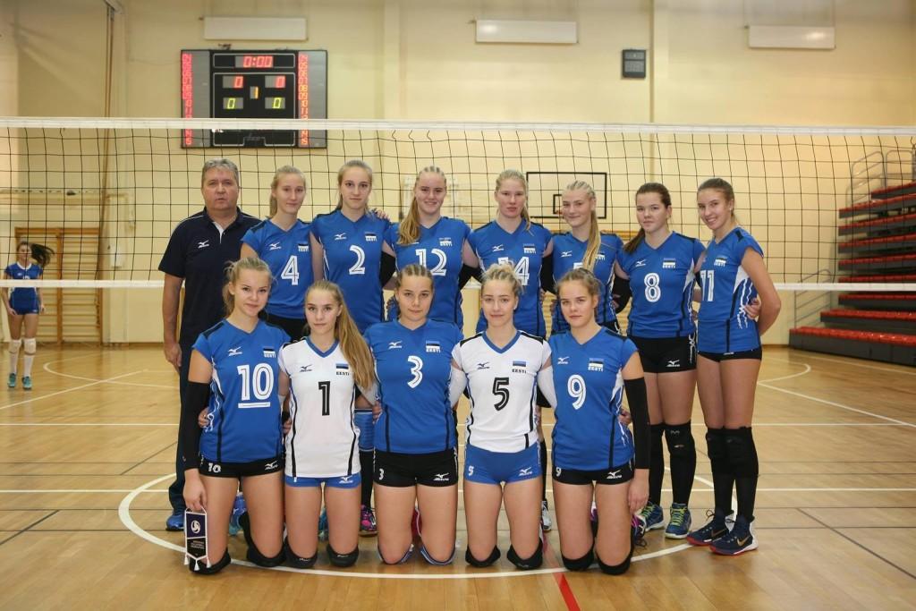 U16 koondis (Kätriin Põld nr.2). volley.ee