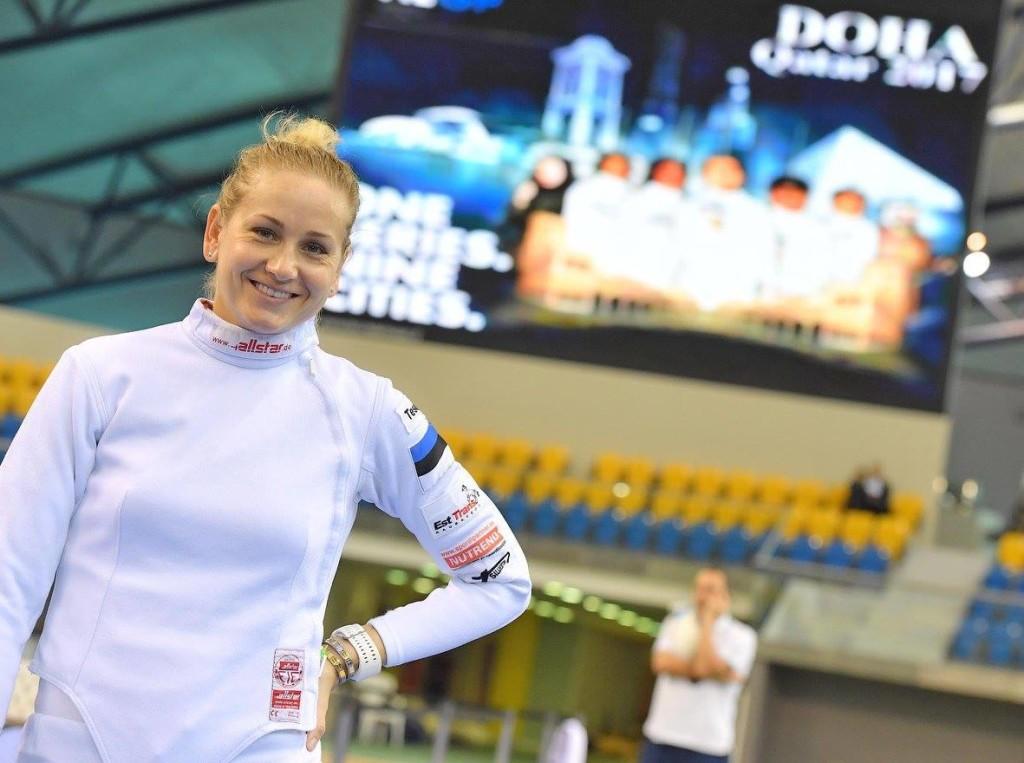 Kristina Kuusk Dohas. Eesti Vehklemisliit