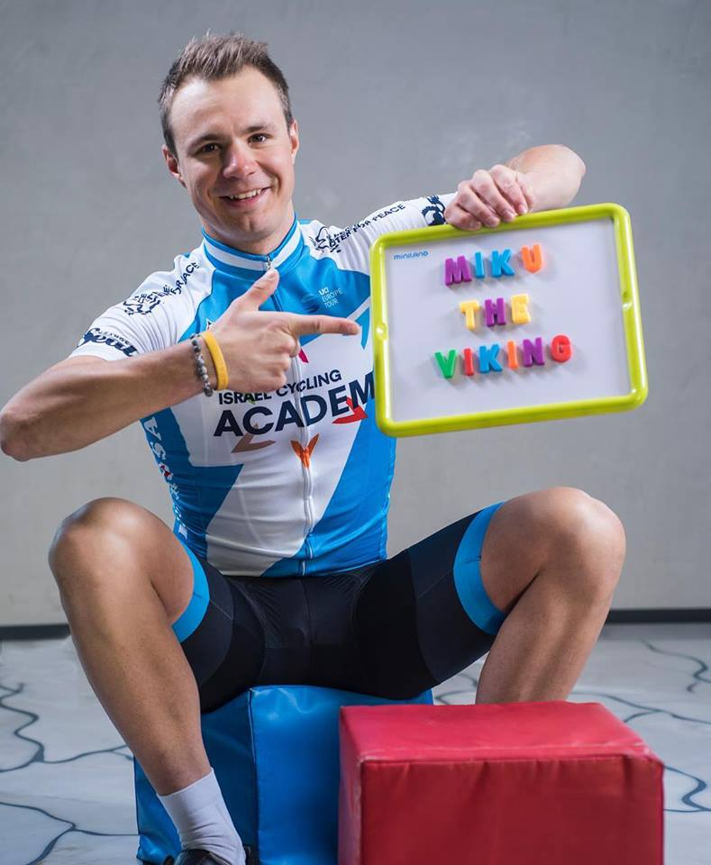 Mihkel Räim sues vormis. Cycling Academy