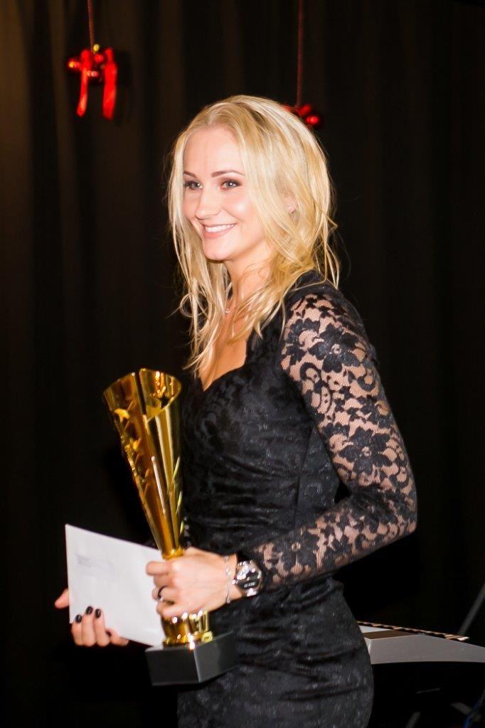 Kristina Kuusk Saaremaa parima sportlasena. Irina Mägi