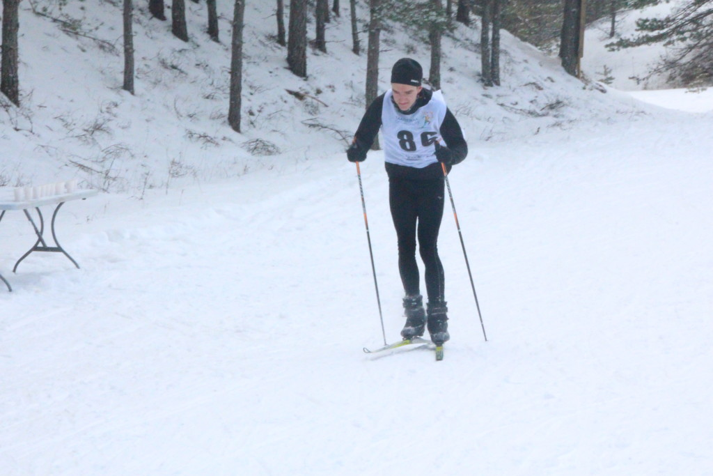 Võitja Saaremaa suusamaratonil. Alver Kivi
