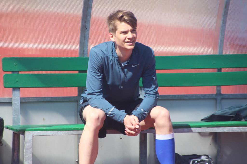 Hendrik Lillemets staadionil. Alver Kivi