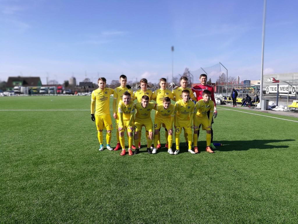 Meeskond mänguks valmis. Sander Viira