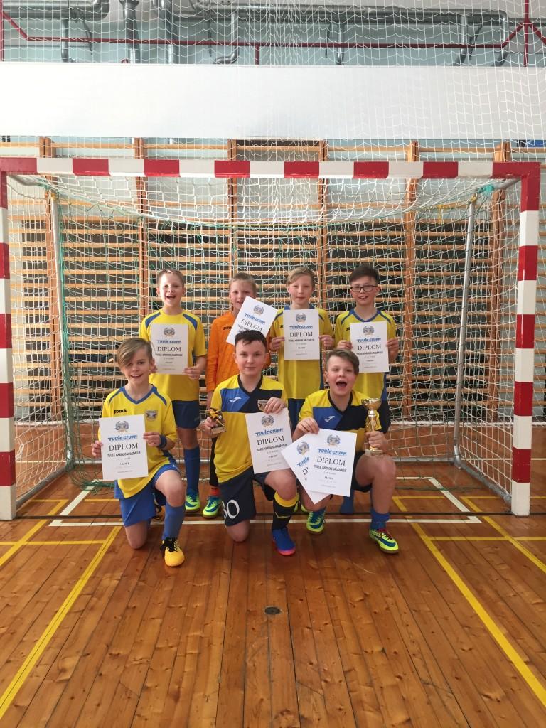 Võidukas võistkond. FC Kuressaare