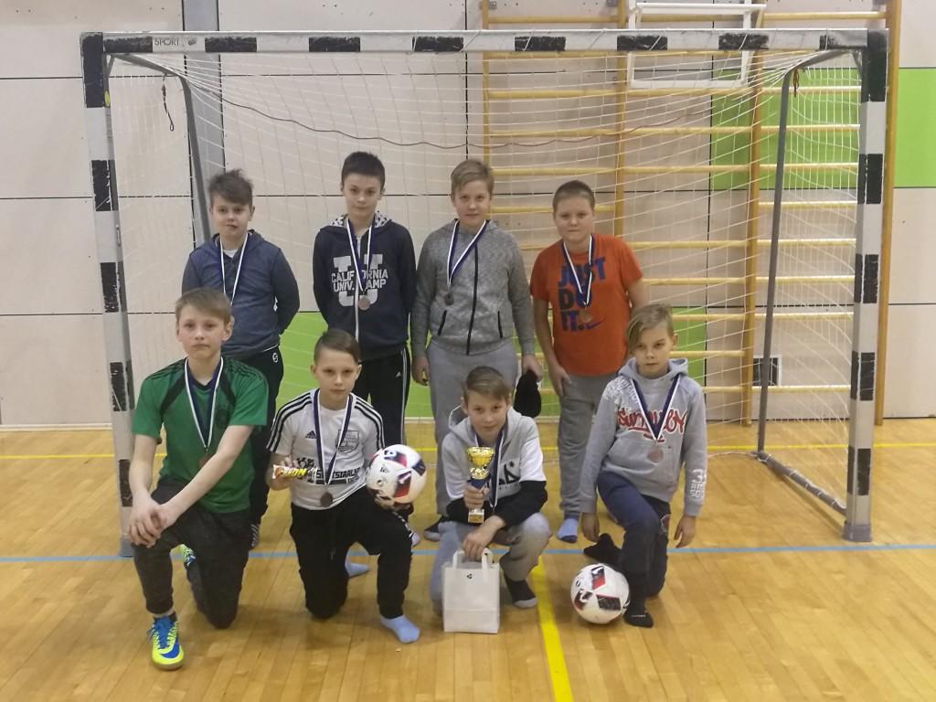 Võistkond medalitega. saaremaajk.ee