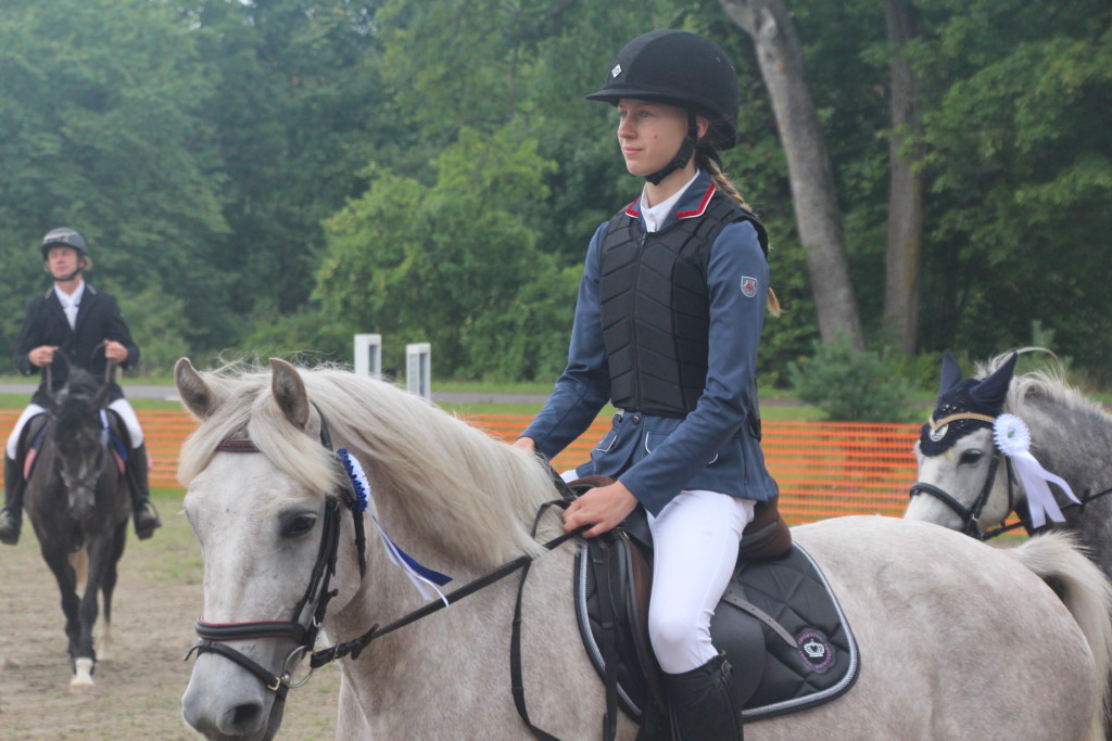 Luise Vevers võistlemas. Alver Kivi