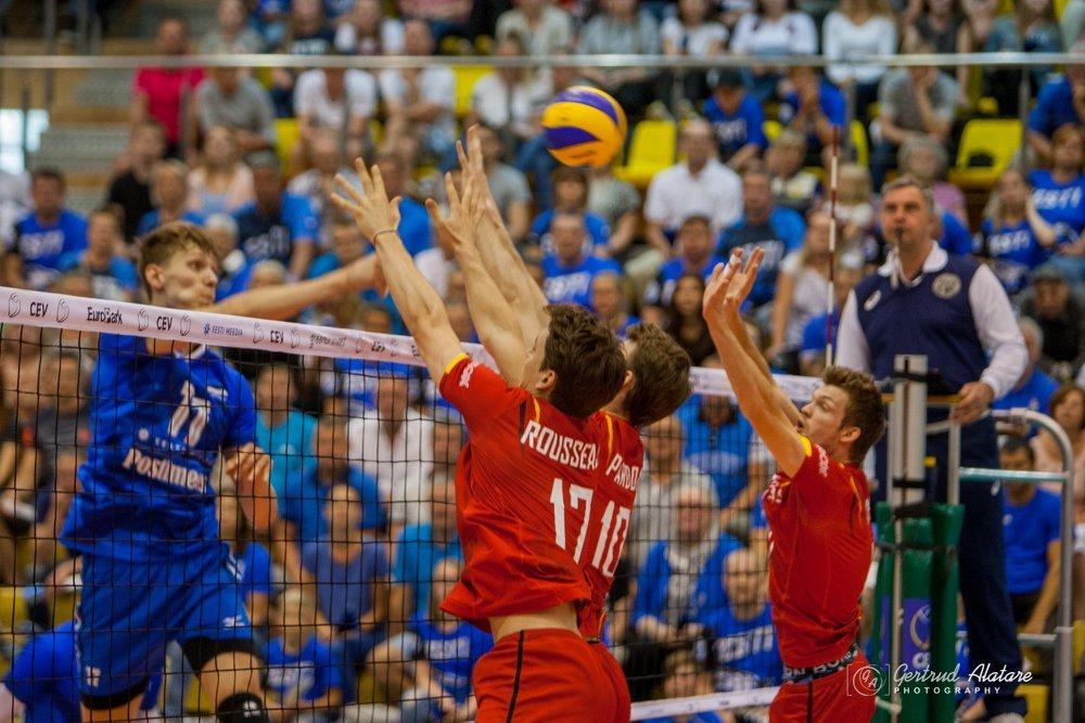 Timo Tammemaa rünnakul. Gertrud Alatare/volley.ee
