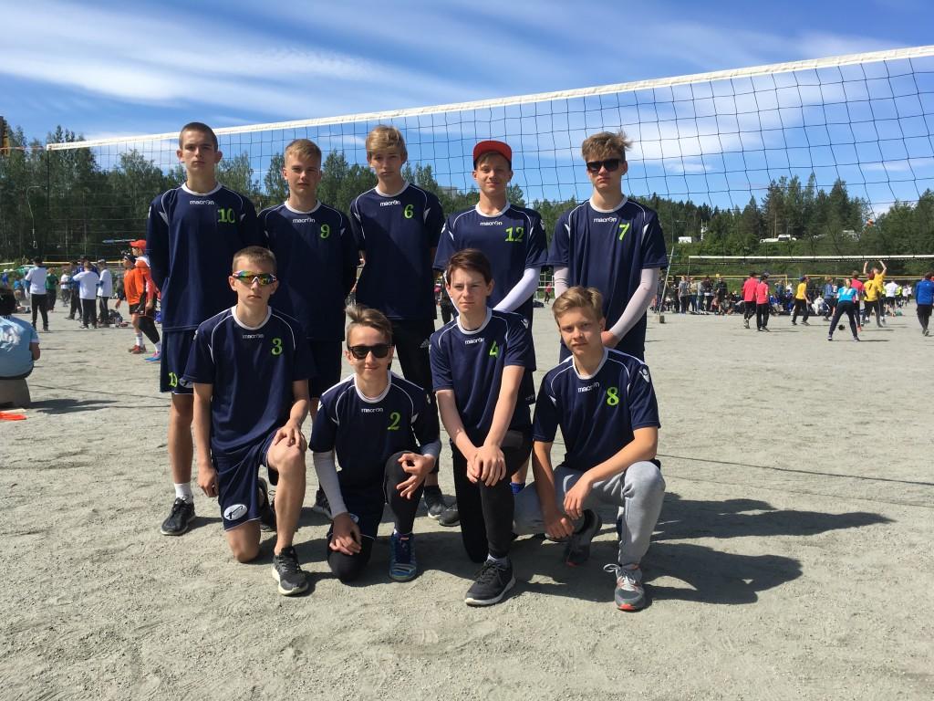 Võistkond Soomes. Saaremaa Võrkpalli Liit
