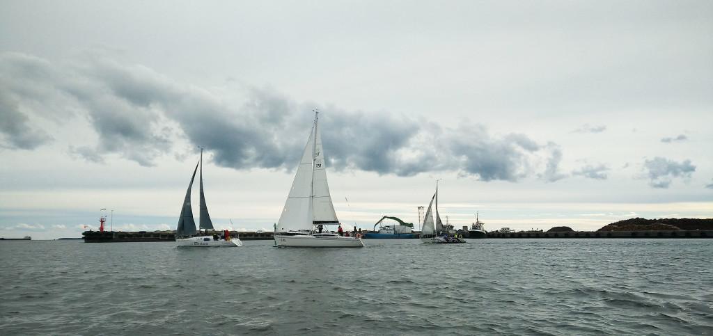 Jahid merel. Saaremaa Merispordi Selts