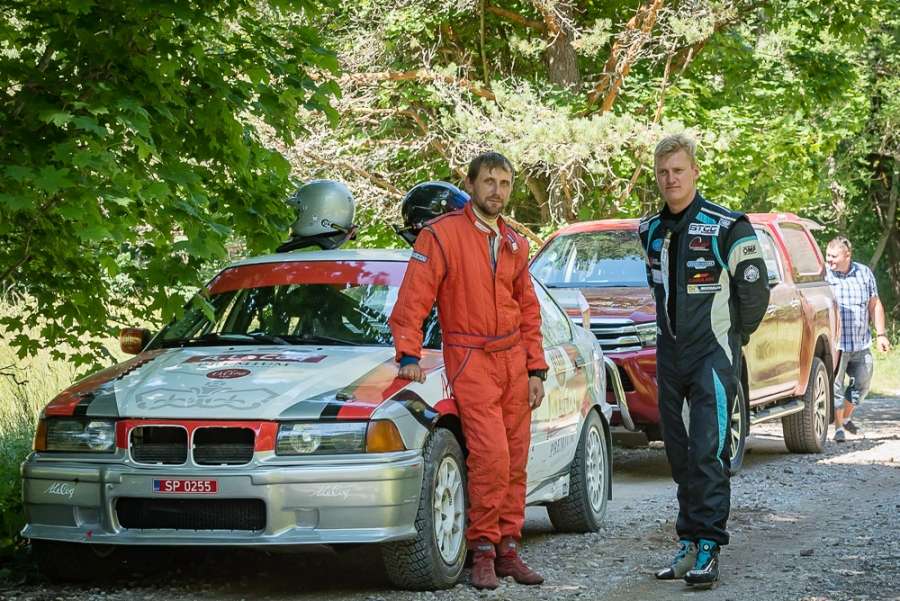 Sport klassi võitjad Riivo Mesila ja Andre Kiil. Maanus Masing