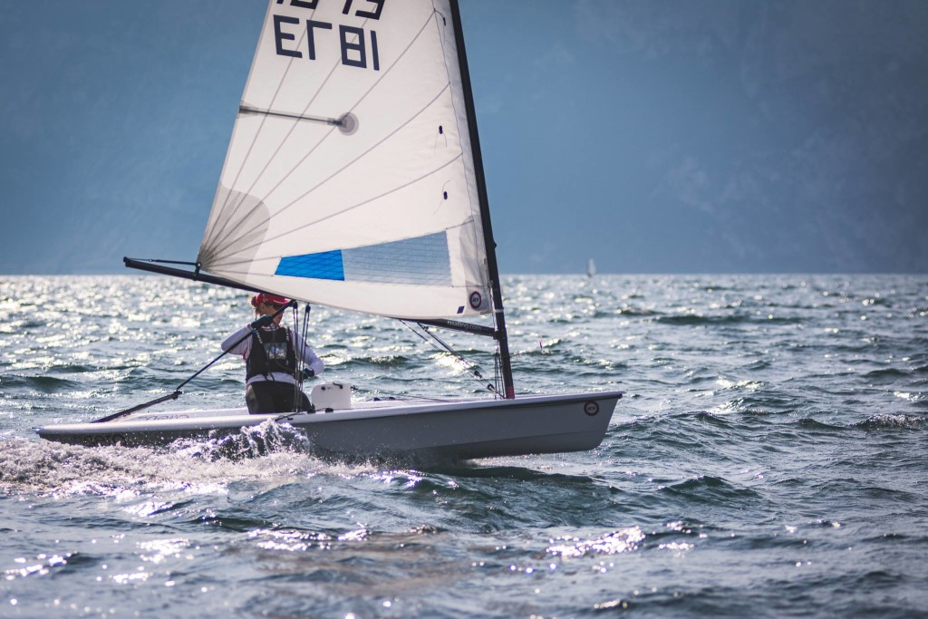 Liina Kolk võistlushoos. RS Sailors Estonia/Liina Kolk facebook