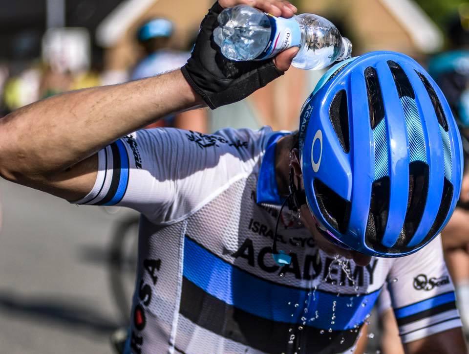 Vesi pakub kosutust. Cycling Academy