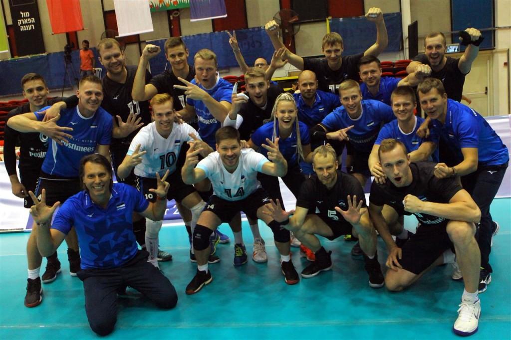 Võidukas koondis. volley.ee