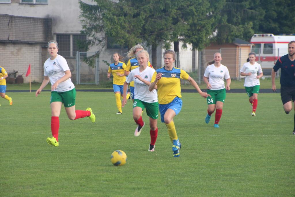Marilis Remmel on Elva mängijad selja taha jätnud. Alver Kivi
