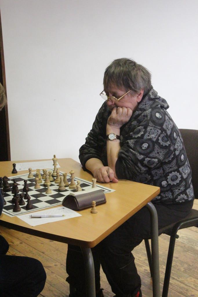 Milde Burkova tegi eduka turniiri. Alver Kivi