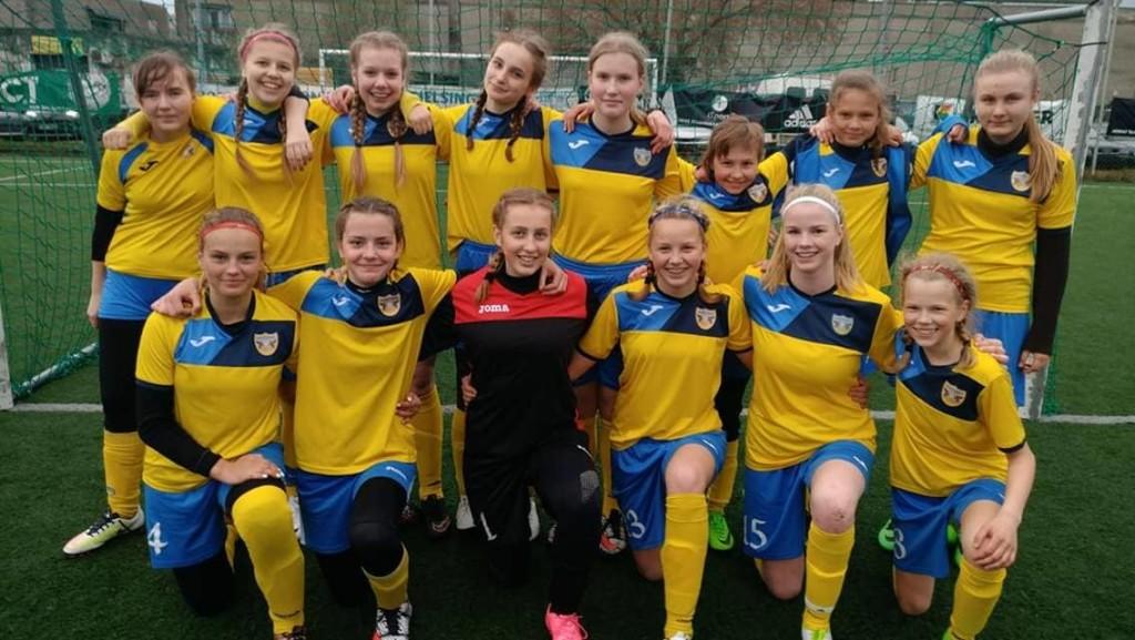 Pronksine võistkond. FC Kuressaare
