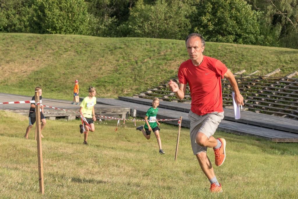 Ain Koplimäe jooksurajal. Saaremaa spordiliit