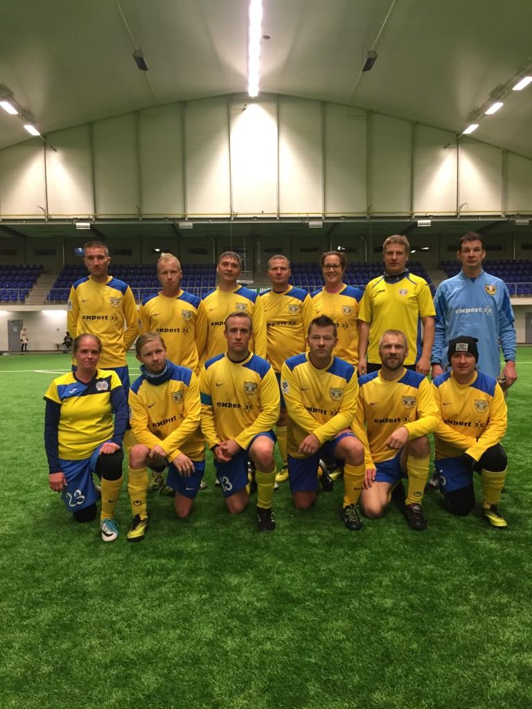 Jalkaässade võistkond. FC Kuressaare