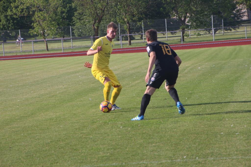 Värava lõi taas Sander Laht. Alver Kivi