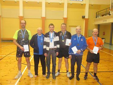 vasakult Meelis Uuväli, Rein Kirst, Andres Kuusk, Gunnar Usin, Olev Kiirend, Enno Kermik. Erakogu