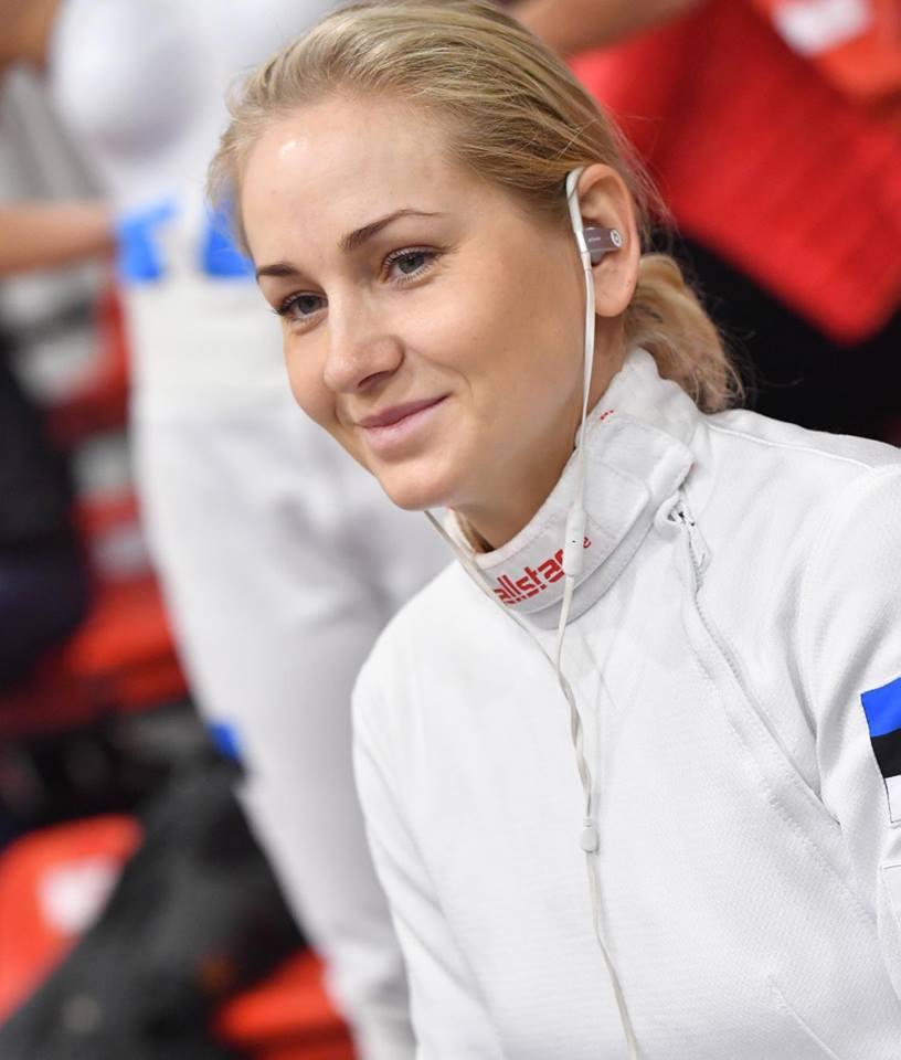 Kristina Kuusk. FIE- International Fencing Federation 1