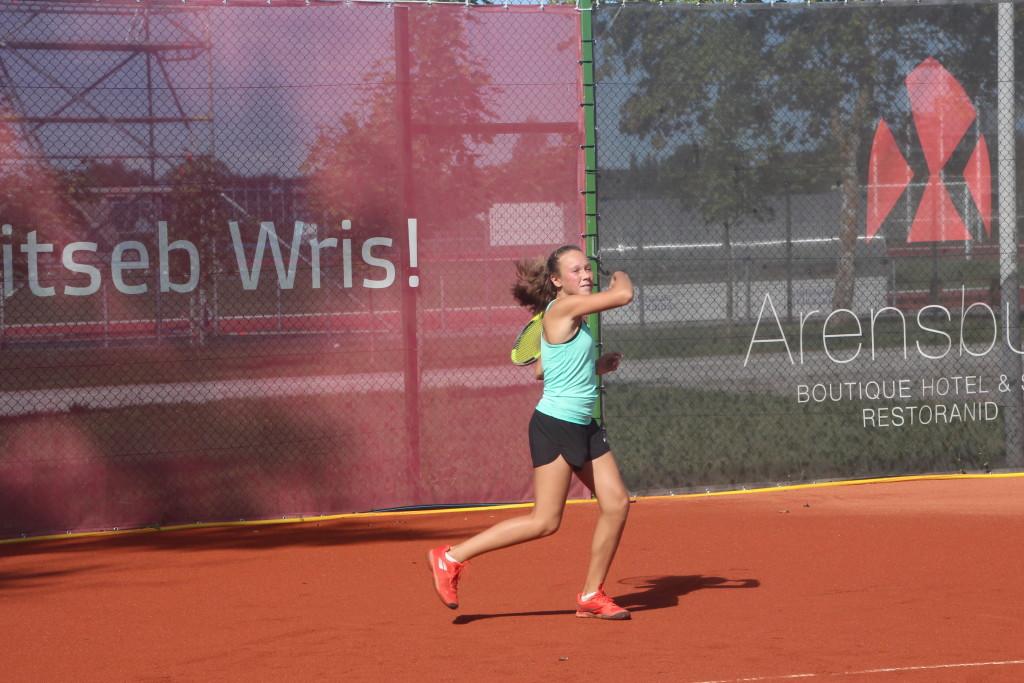Grete Gull mängis end poolfinaali. Alver Kivi