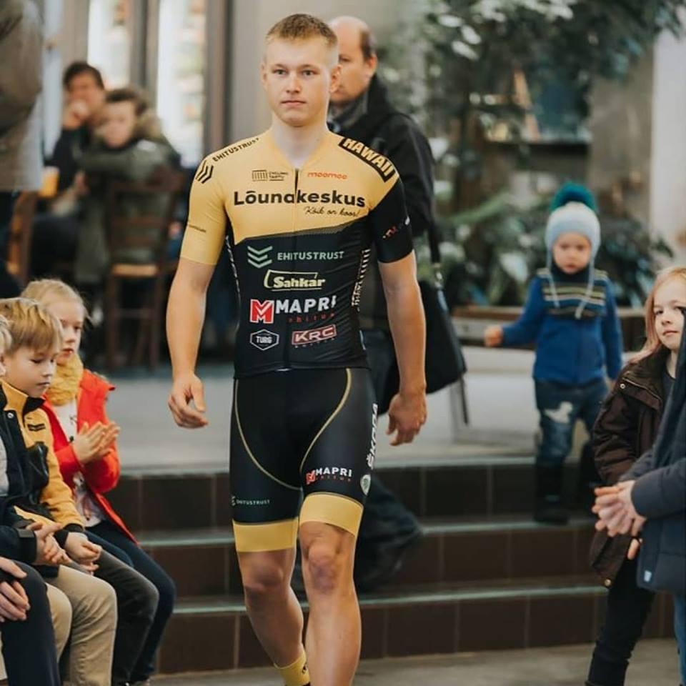 Oskar Nisu klubi esitlusel. Cycling Tartu
