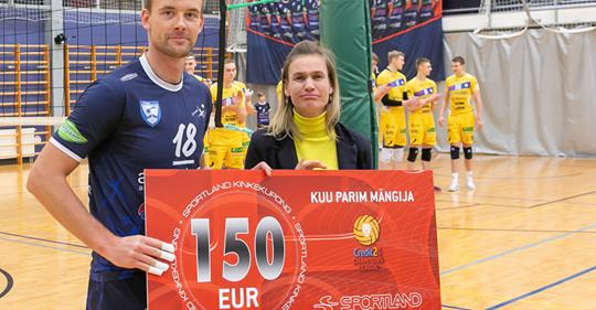 Parima preemiaga. Irina Mägi