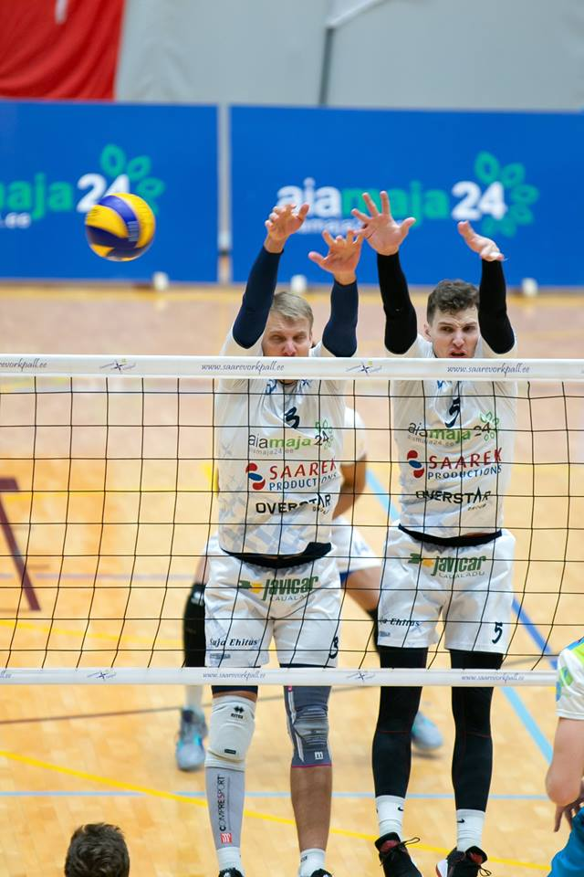 Blokis on Mihkel Tanila ja Rauno Tamme. Irina Mägi