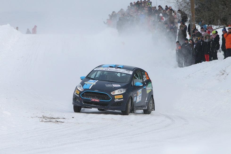 Estonian Junior Challenge arvestuse Aluksne ralli võitjad Virves - Pruul. Ray Põder