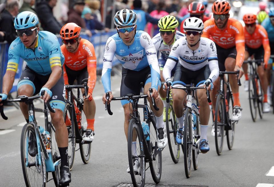 Mihkel Räim grupis. Cycling Academy